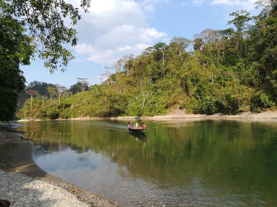 Un Río Que Muere En Alta Verapaz, Guatemala …..