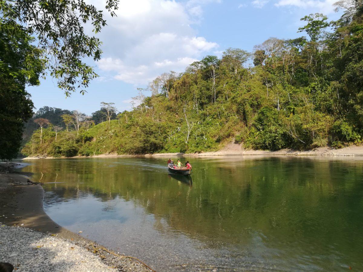 Río Chixoy, Guatemala. Fotografía: Rachel Sieder y Lieselotte Viaene