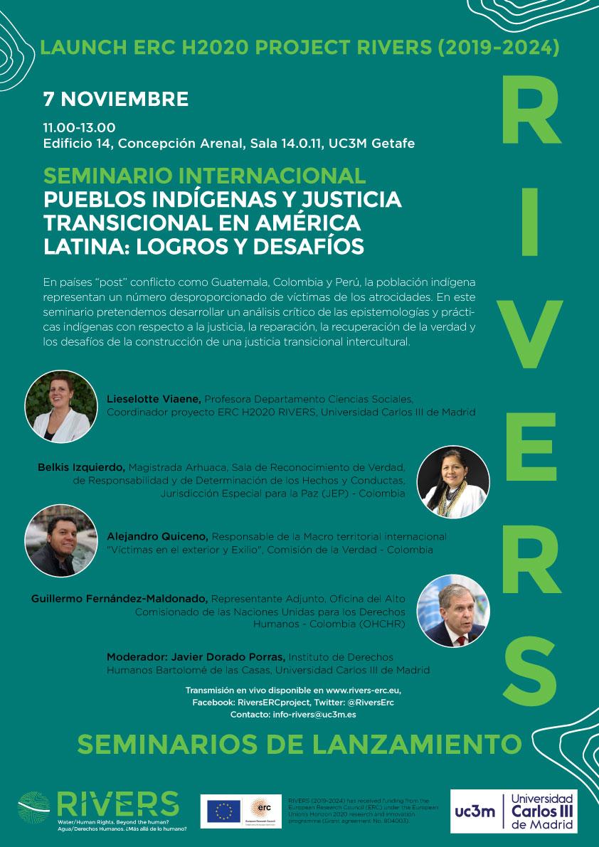 Pueblos indígenas y justicia transicional en América Latina logros y desafíos  poster