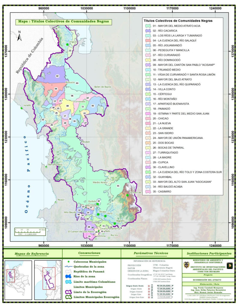 Atrato River Ecoregion